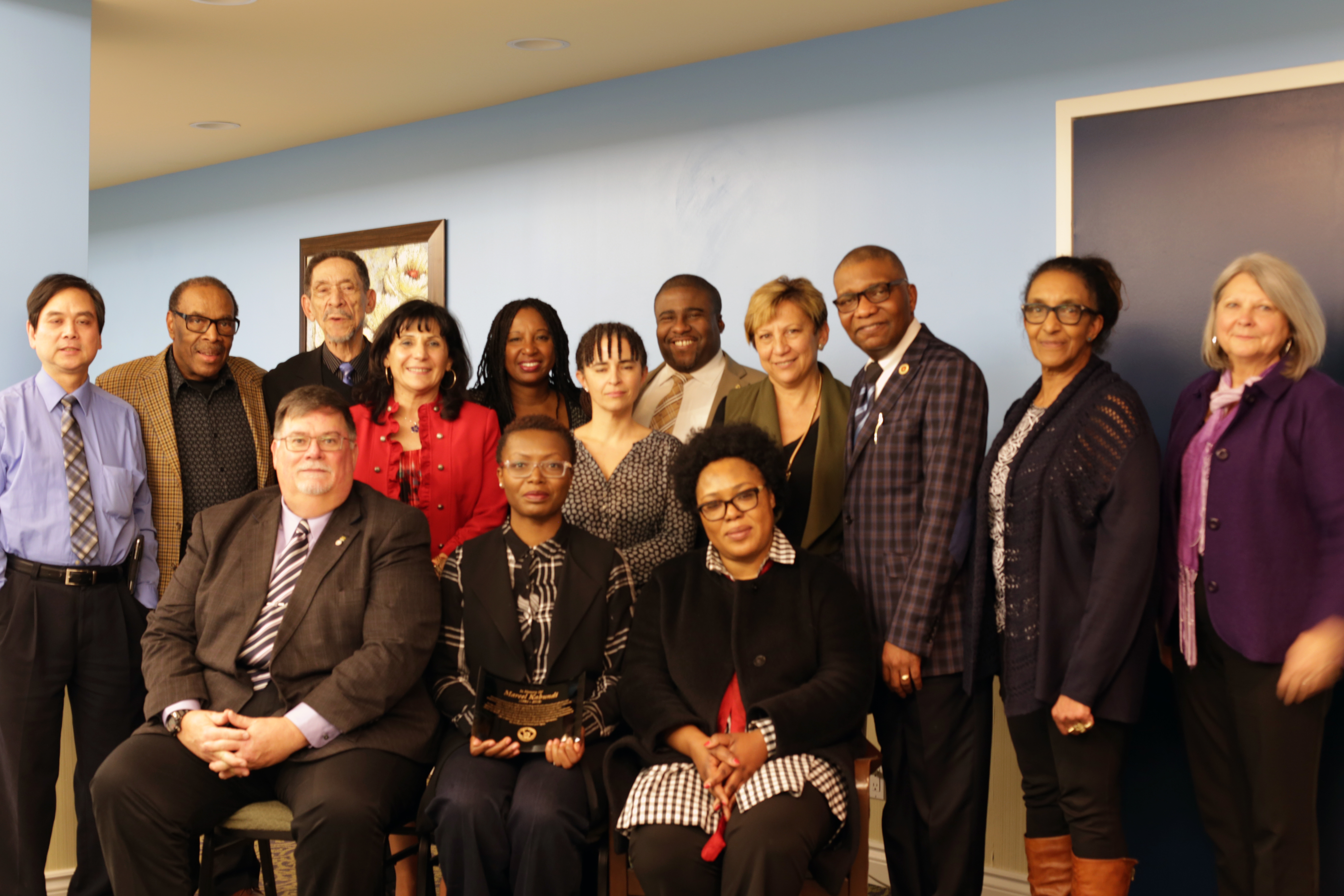A photo of the members of the National Ethnocultural Advisory Committee