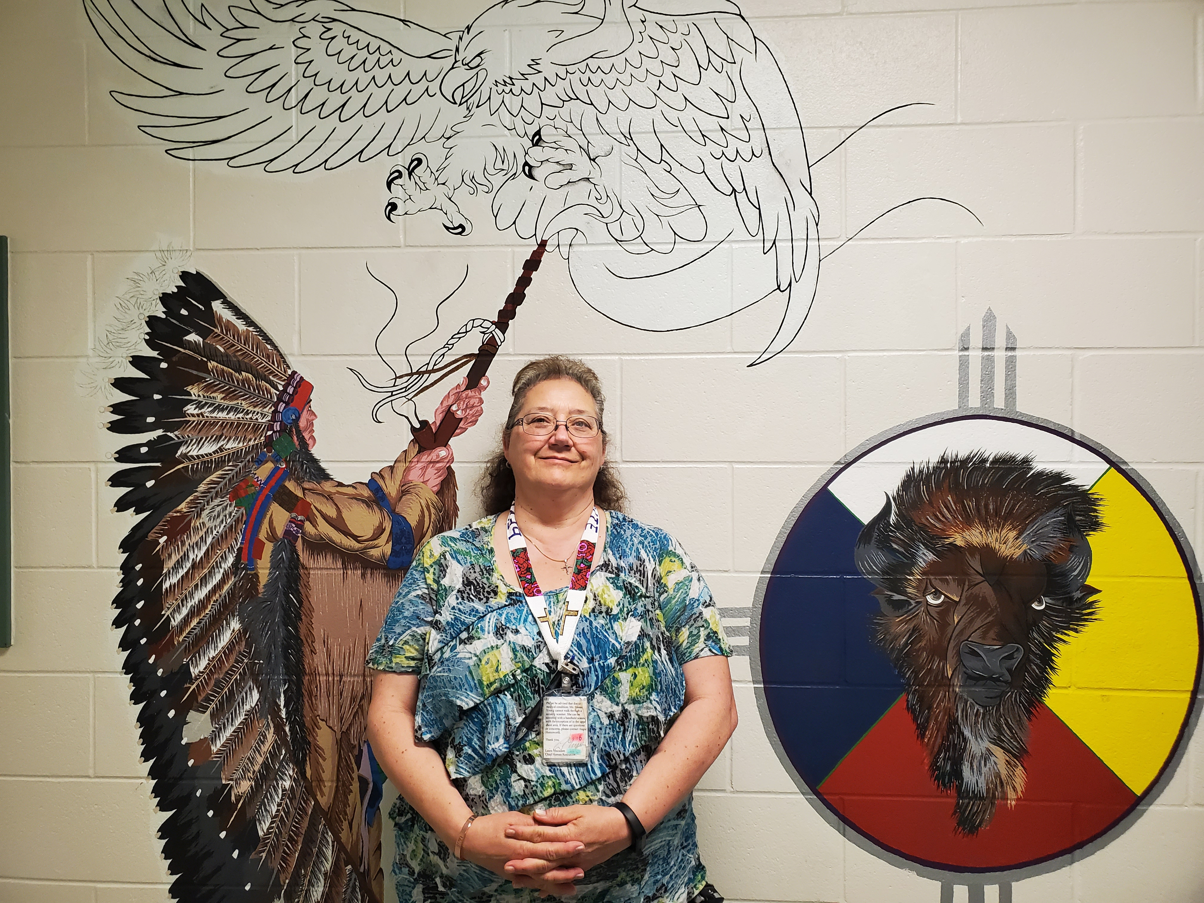 Pennie Young, Volunteer Coordinator at Saskatchewan Penitentiary in Prince Albert, Saskatchewan.