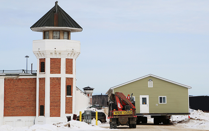 Piapot modular structure leaves Saskatchewan Penitentiary