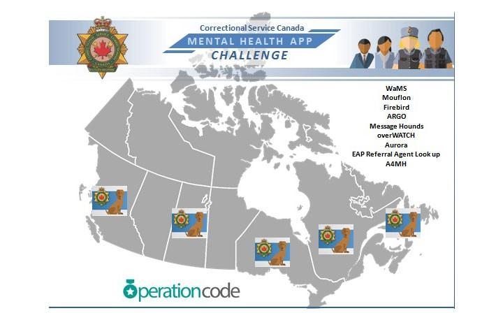 Photo d'une carte qui explique d'ou les participants sont venus