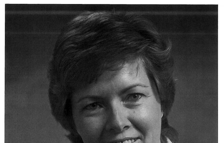 A photo of Mary Dawson who was appointed Warden at Warkworth Institution in 1980. She was the first female Warden of a male institution.