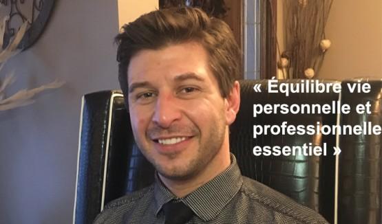 """Photo de Tyler Helm avec le texte """"Équilibre vie personnelle et professionnelle: essentiel"""""""