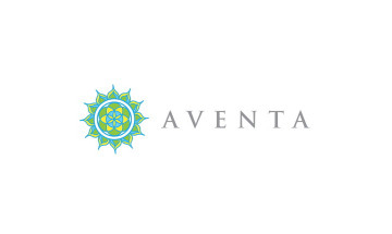 A photo of the Aventa logo