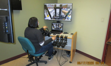 Forklift simulator provides more than just employment training