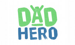 Dad Hero logo