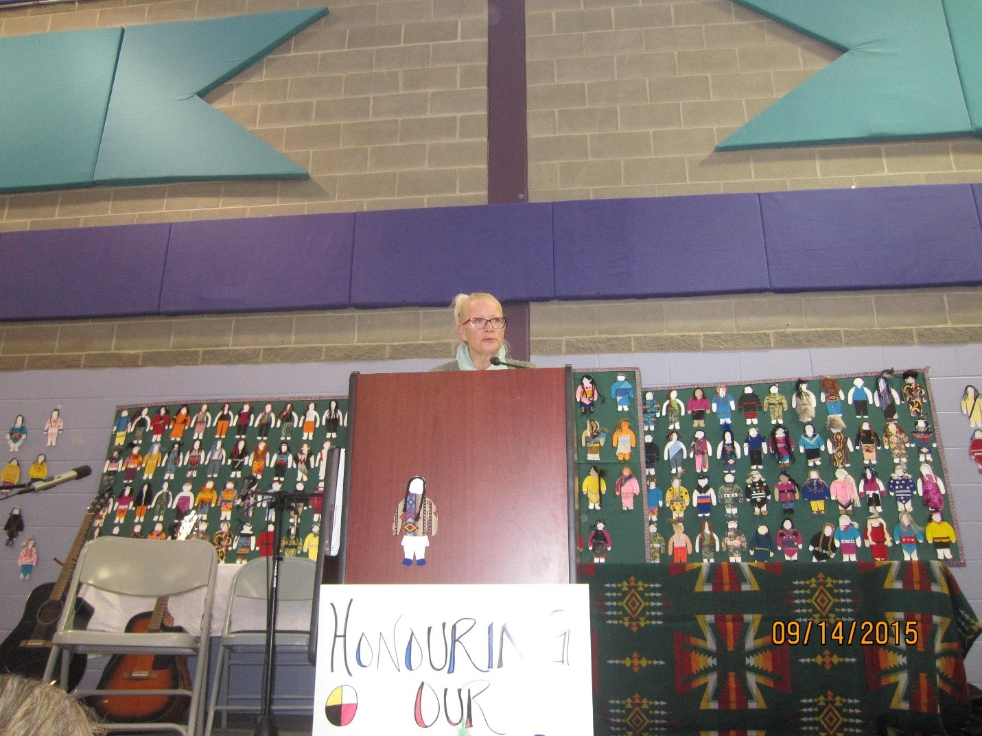 Valerie Gow, Coordonnatrice du Centre d'intervention pour Autochtones, Établissement d'Edmonton pour femmes